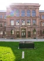 Blick zum Gymnasium