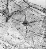 Coeler-Plan 1789/91: Drehberg im Dessau -Wörlitzer Gartenreich mit Darstellung der Sichtachsen